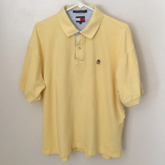 dd2d7c03fa58 Tommy Hilfiger Yellow Polo Shirt